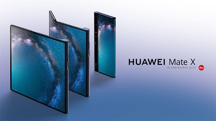 Mate X, le smartphone pliable de huawei