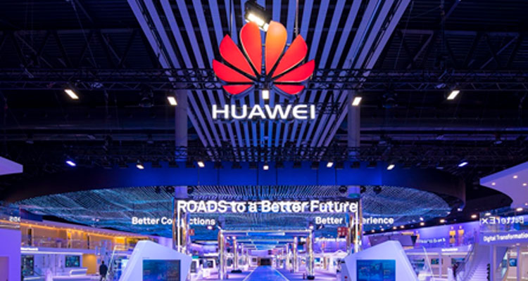 Stand Huawei au Mobile World Congress 2018
