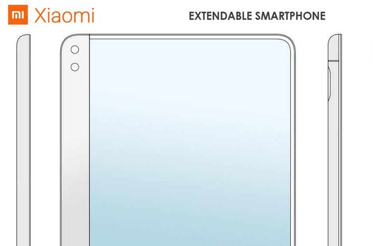 xiaomi smartphone écran extensible