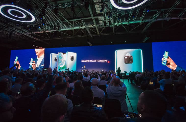 Huawei garde la deuxième place sur le marche mondial des smartphones
