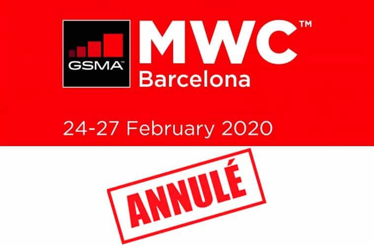 Le MWC 2020 est annulé