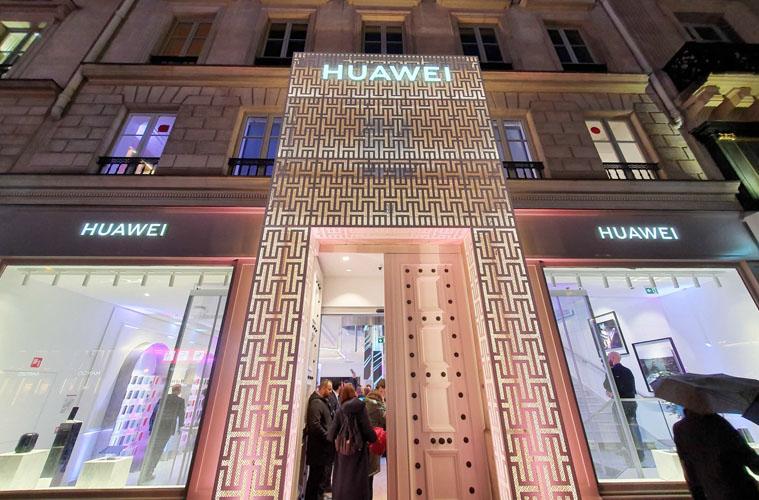Huawei ouvre son premier magasin à Paris