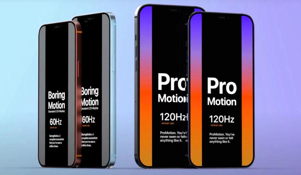 iphone 13 pro écran 120 Hz promotion