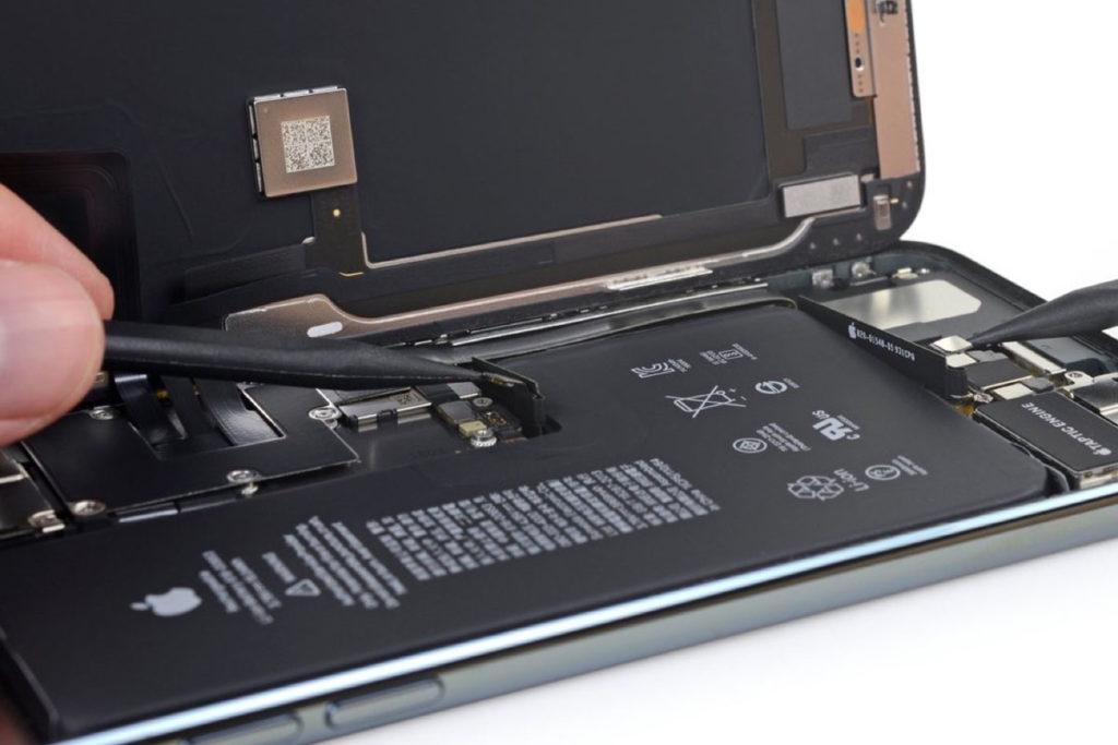 La batterie d'un iPhone 11 Pro Max