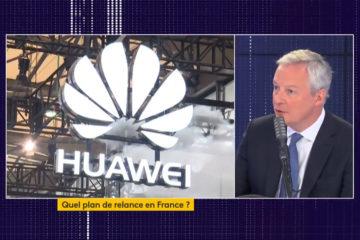 bruno le maire s'exprime sur Huawei et la 5G en France
