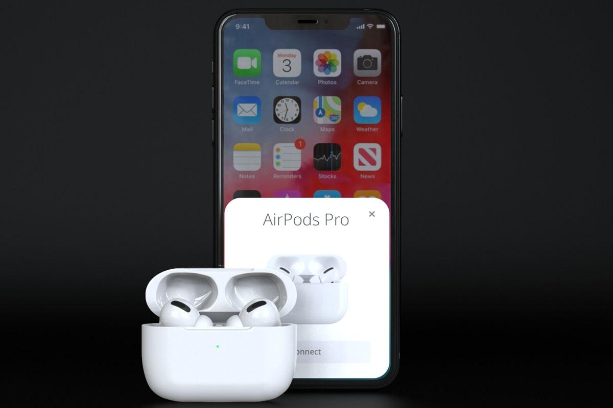 les airpods d'apple