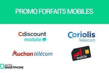 promo forfaits mobiles
