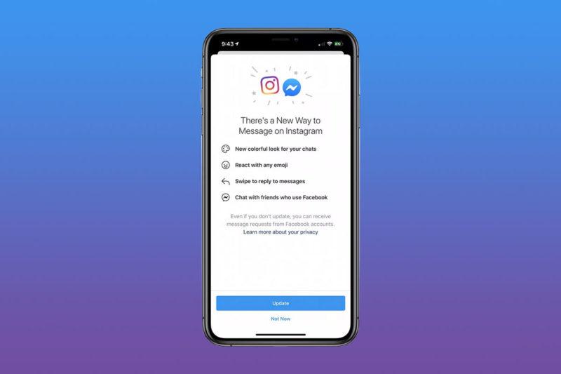 instagram messenger fusion