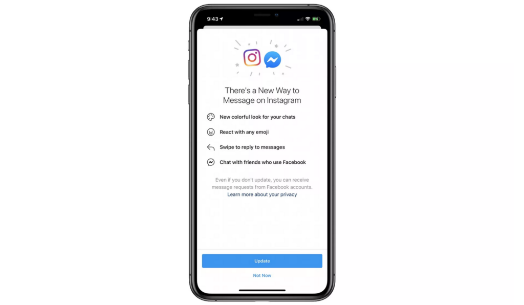 messenger instagram messages directs