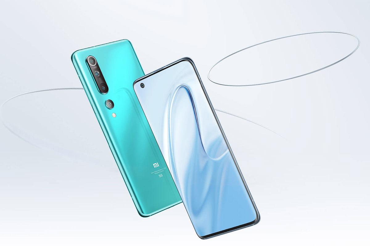Le Xiaomi Mi 10 - Source : Xiaomi