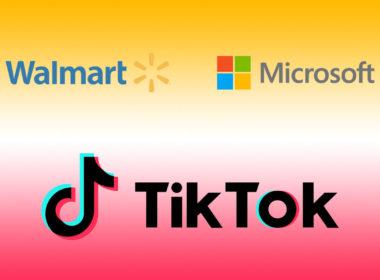 logo walmart microsoft tiktok