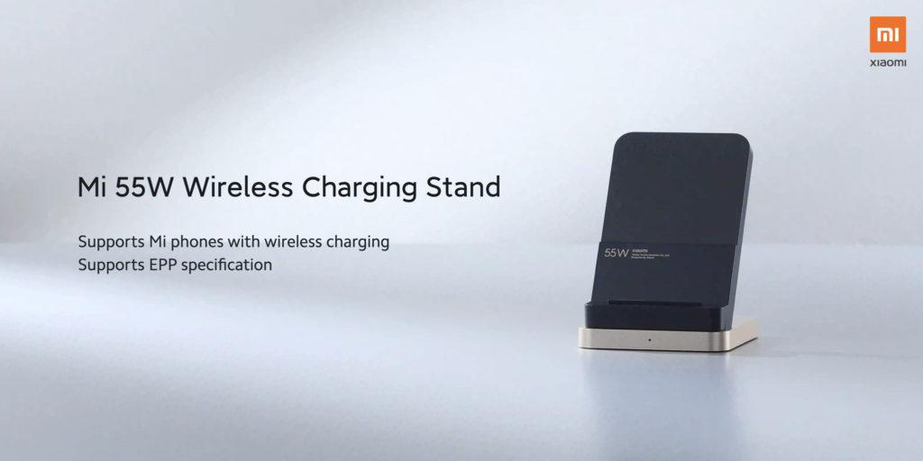 mi 55W socle de recharge sans fil
