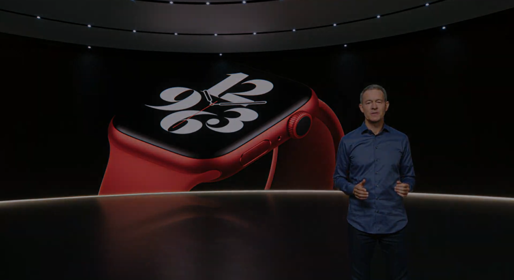 apple watch series 6 red product