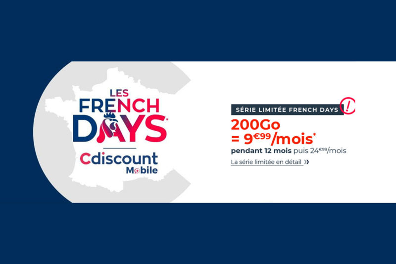 cdiscount mobile forfait 200 go