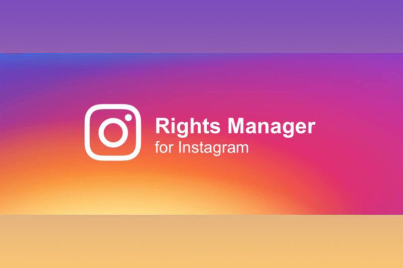 instagram right manager