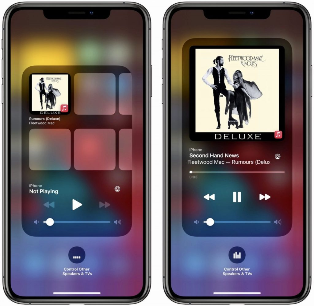 ios 14.2 widget music