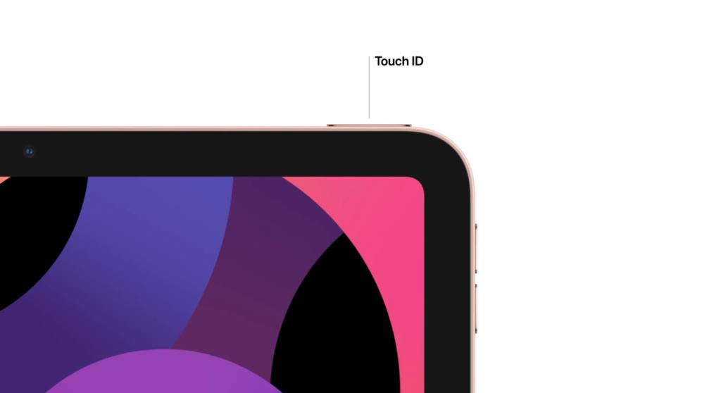 touch id ipad air 4