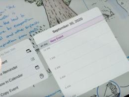 ipad 8 calendrier