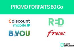 promo forfaits 80 go