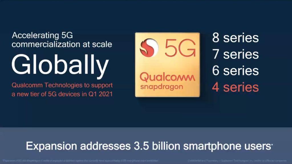 snapdragon 400 5G