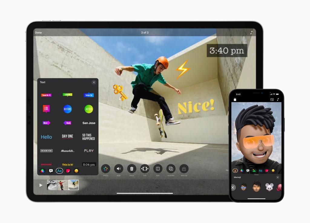 apple clips ipad iphone
