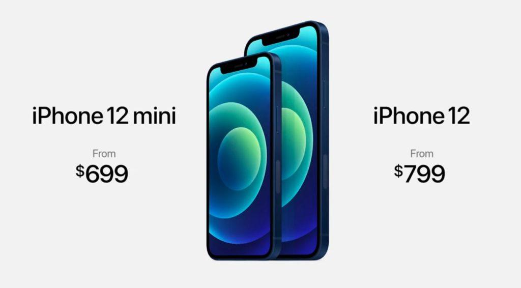 iphone 12 mini et 12
