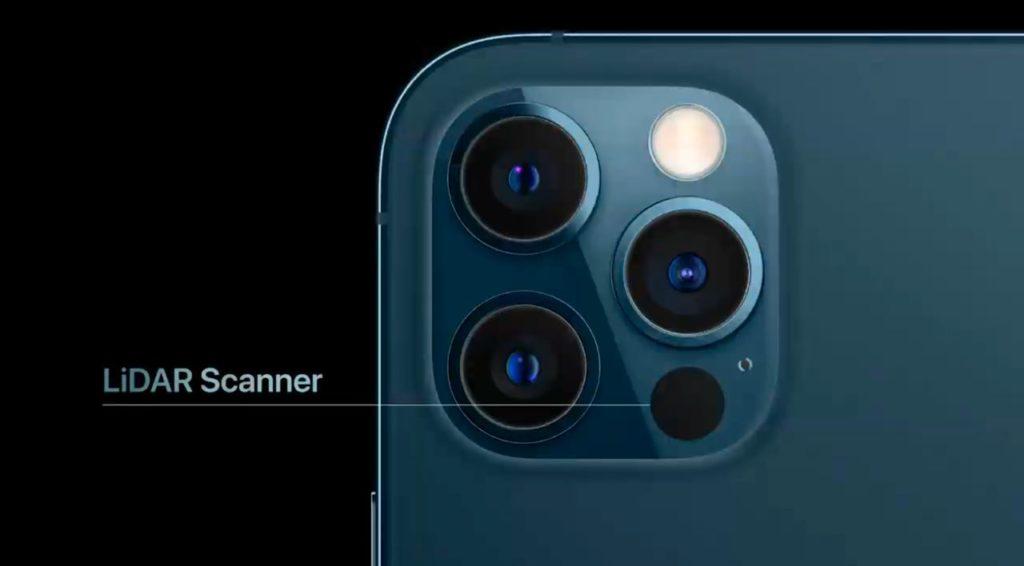 scanner lidar iphone 12 pro max