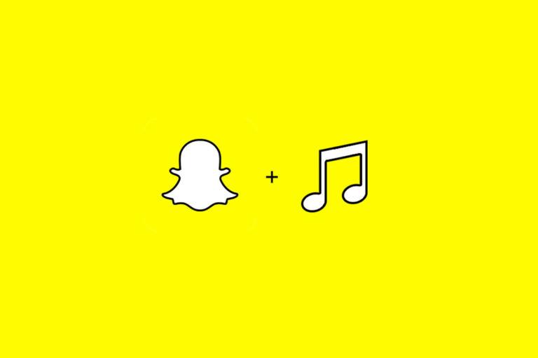 snapchat musique