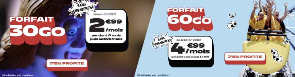 nrj mobile forfaits promo