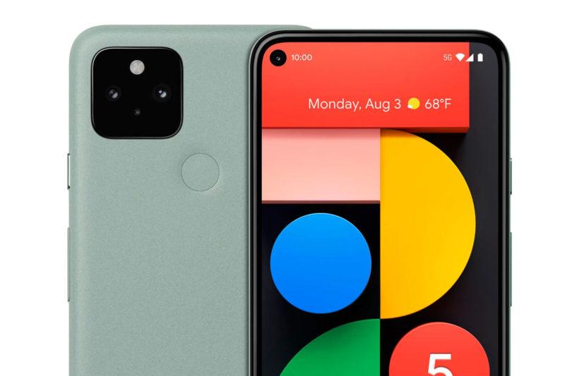 pixel 5 sauge