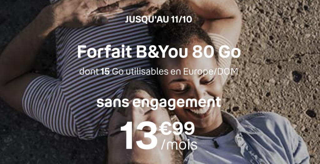 b&you 80 go promo