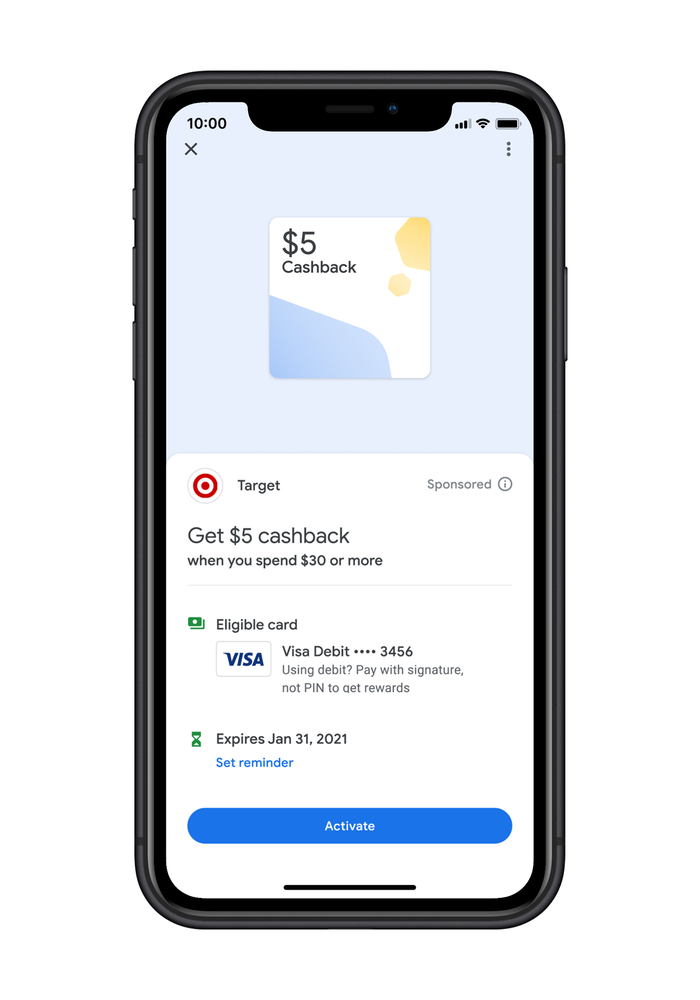economiser google pay
