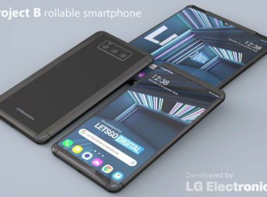 lg smartphone enroulable
