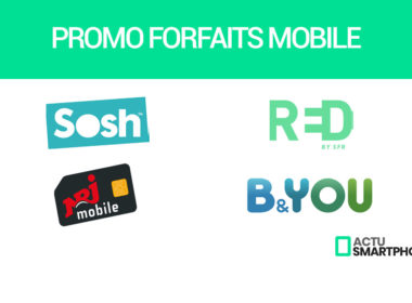 promos forfaits mobile