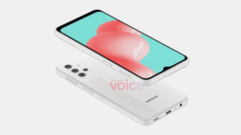 Galaxy A32 5G OnLeaks x Voice