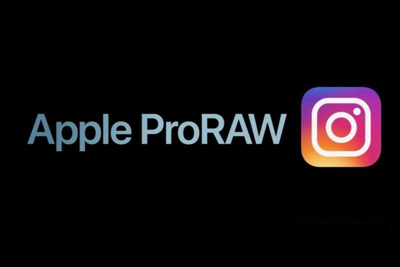 apple proraw instagram
