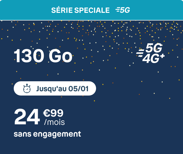 forfait 5G b&you