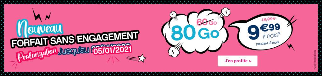 Forfait 80 Go Coriolis
