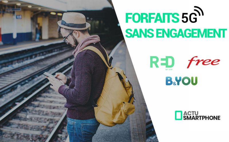forfaits 5G sans engagement