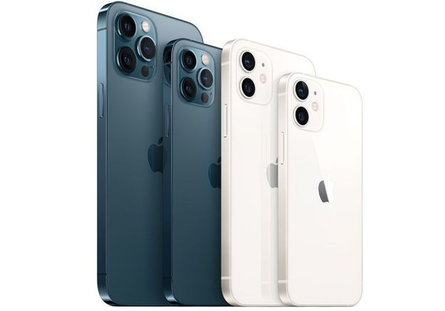 iphone 12 gamme