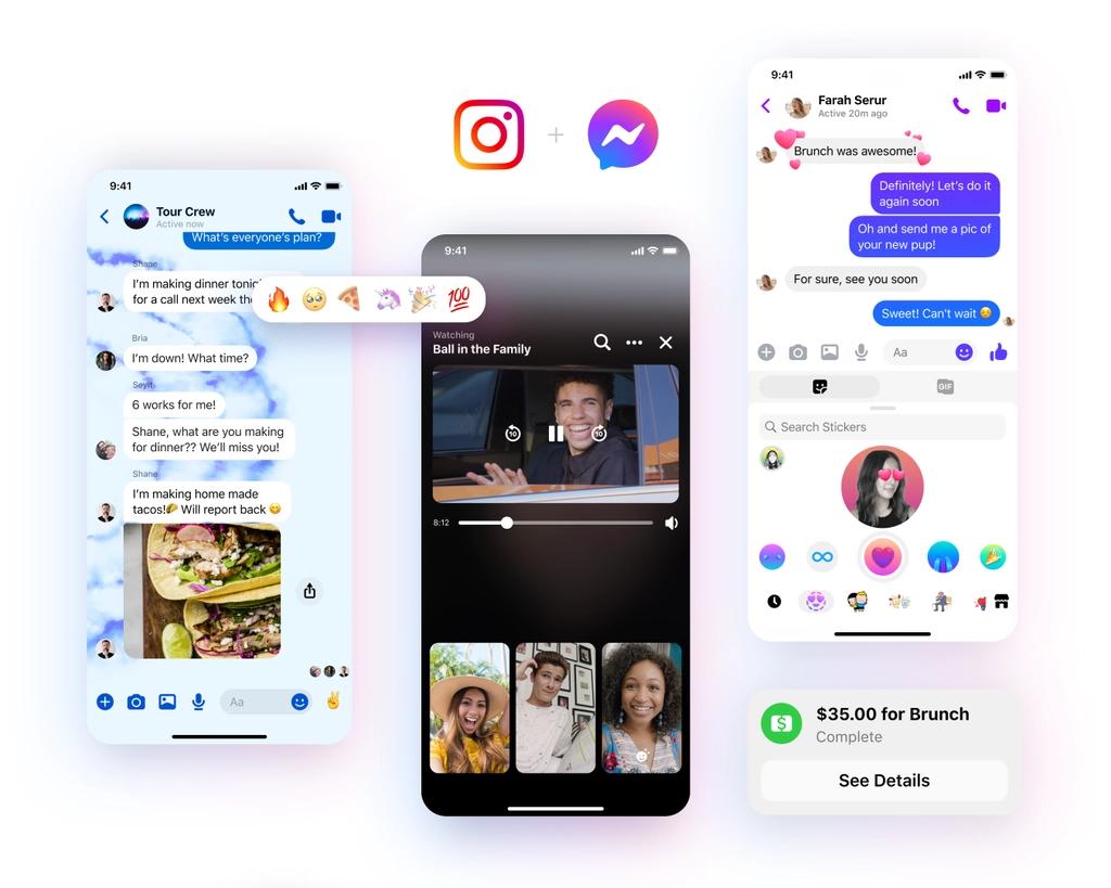 messenger instagram fonctionnalités