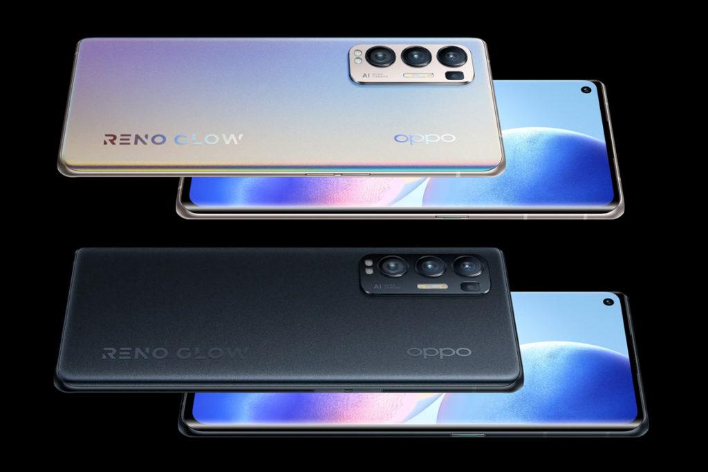 coloris Oppo Reno5 Pro Plus