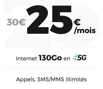 red by sfr forfait 5G