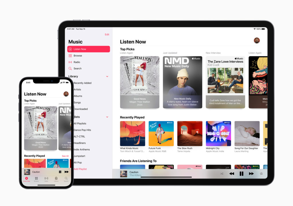 apple music ipad iphone