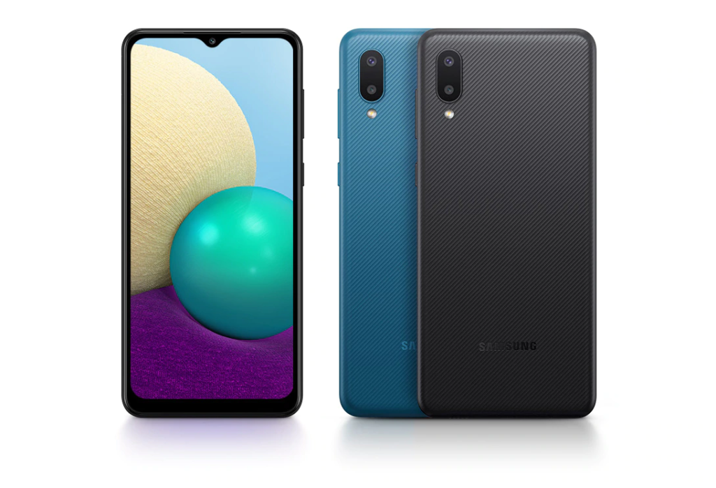 Galaxy A02 smartphone