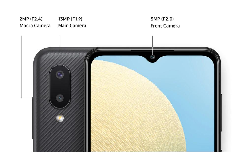 Galaxy A02 camera