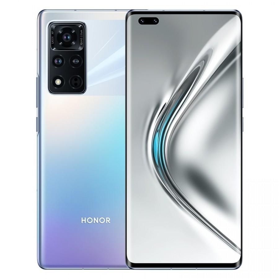 Le Honor V40 5G en titanium argent