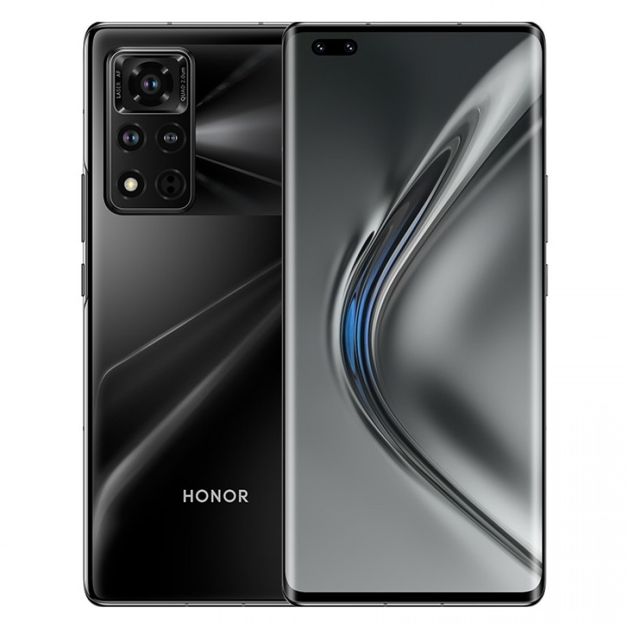 Le Honor V40 5G en noir