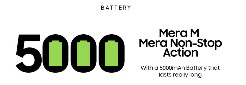 Batterie Galaxy M02