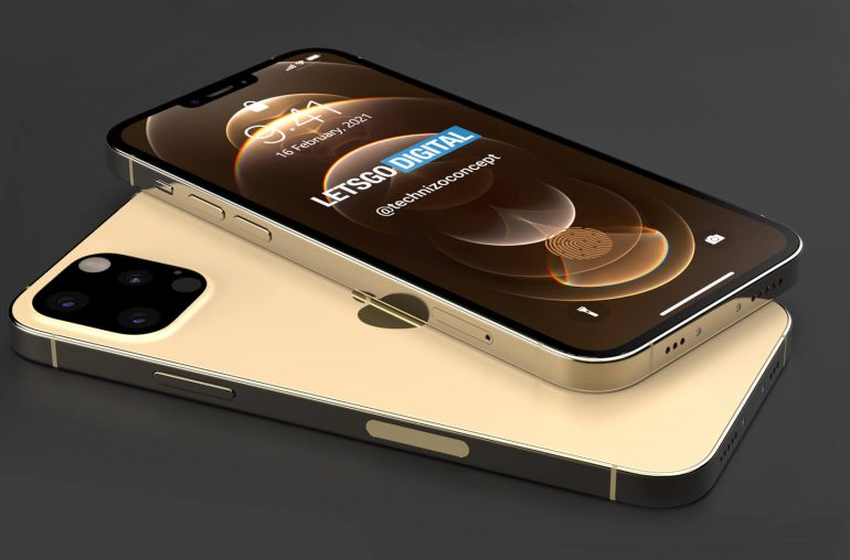 iphone 13 concept sans port